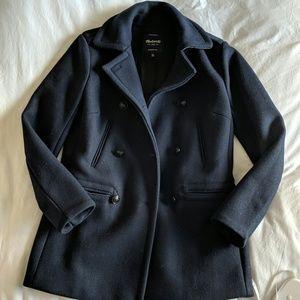 Madewell Wool Blend Pea Coat